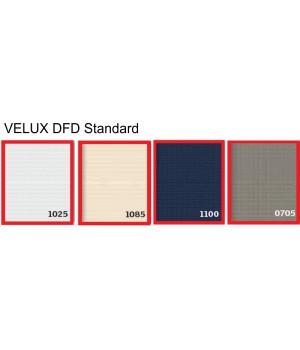 VELUX DFD Standard zatemňující plisovaná roleta M08/MK08 - 78 x 140 cm