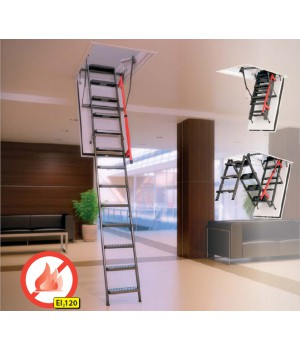 FAKRO LMF 280 60 x 120 cm Protipožární půdní schody