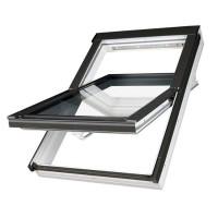 FAKRO kyvné plastové střešní okno PTP-V U3 07 - 78 x 140 cm