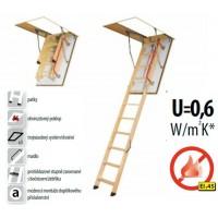 FAKRO LWF 45 280 - 60 x 120 cm protipožární půdní schody