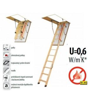 FAKRO LWF 45 280 - 70 x 120 cm protipožární půdní schody