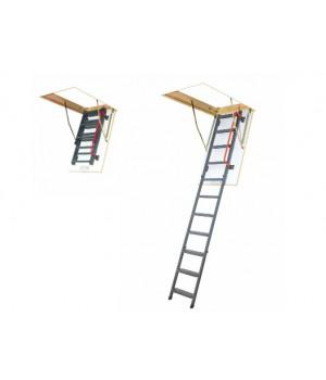 FAKRO LMK Komfort 280 60 x 120 cm kovové půdní schody