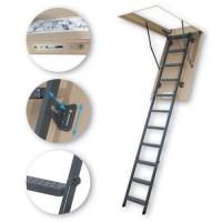FAKRO LMS 280 60 x 120 cm kovové Půdní schody