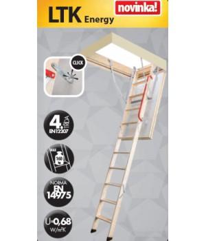 FAKRO LTK Energy 280 60 x 100 cm Skládací půdní schody zateplené