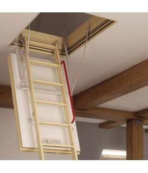 FAKRO LWT 280 70 x 140 cm Skládací půdní schody SUPER TERMOIZOLAČNÍ