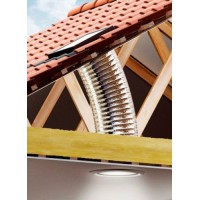 VELUX TWF 014 průměr 35 cm světlovod do šikmé střechy flexibilní tubus